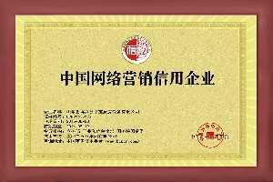 中国网路营销信用企业认证