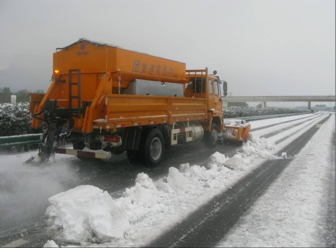 华通融雪剂陕西高速除雪