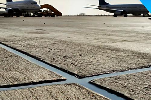 <b>机场跑道自流平硅酮灌缝胶</b>